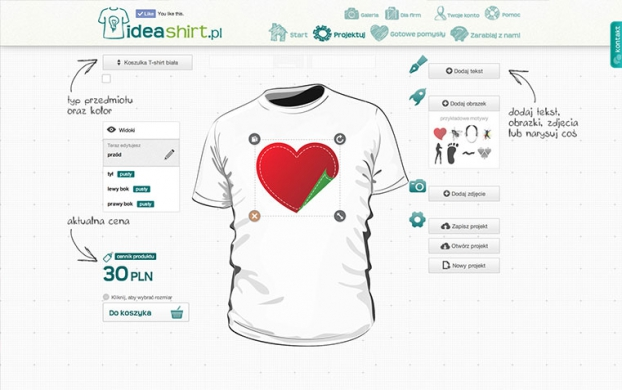 IdeaShirt desktop version