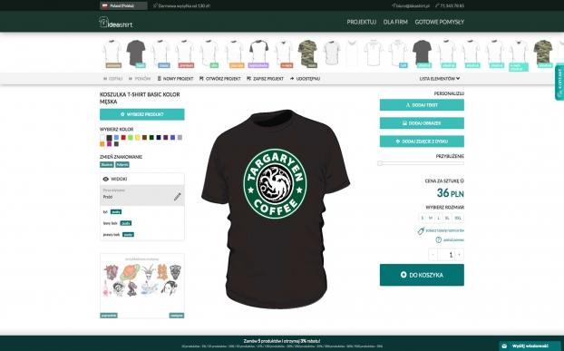 IdeaShirt desktop version