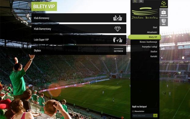 Stadion Wrocław desktop version